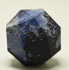 組立式地球儀(ナイト)
