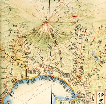江戸 日本 時代 地図