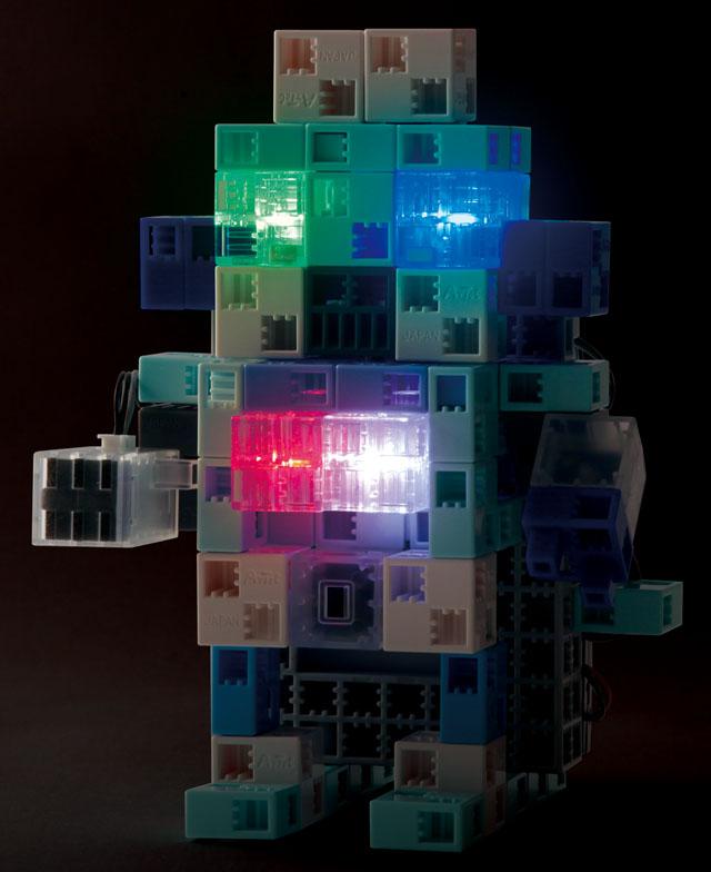 【教材 知育玩具 遊び創意】 ロボティスト センサーライト
